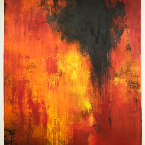 화(火) No.108 121.92 x 152.4 cm 캔버스에 아크릴화,
