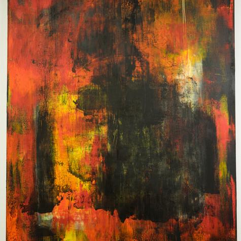 대표 작품 화(火) No.106 121.92 x 152.4 cm 캔버스에