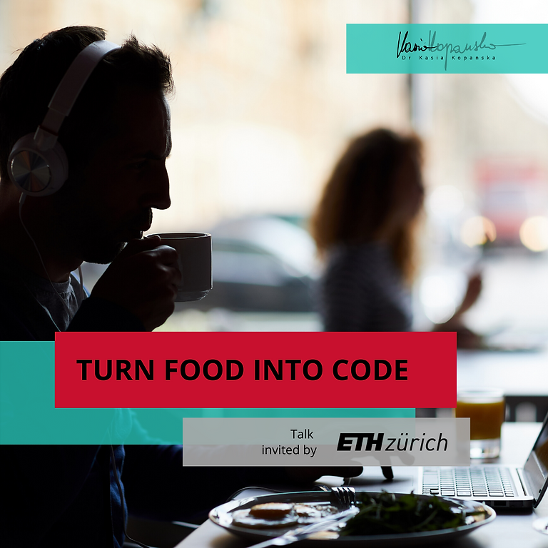Turn Food into Code