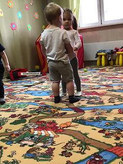 Детский Сад Мой Малыш Парный танец урок хореографии