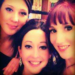 The Amorelles post show selfie