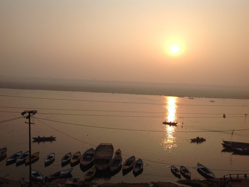 Slowly Down The Ganges