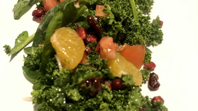 PomBerry Kale & Spinach Salad