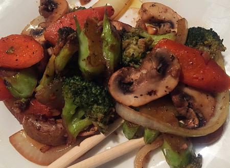 Asian-inspired Vegetable Stir Fry