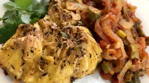 Garlic & Herb Roasted Breadfruit