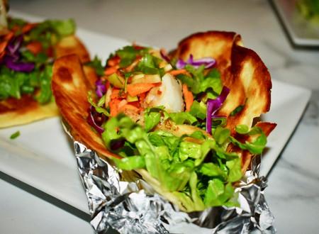 Grouper Tacos (with a Hot Pepper Papaya Sauce)