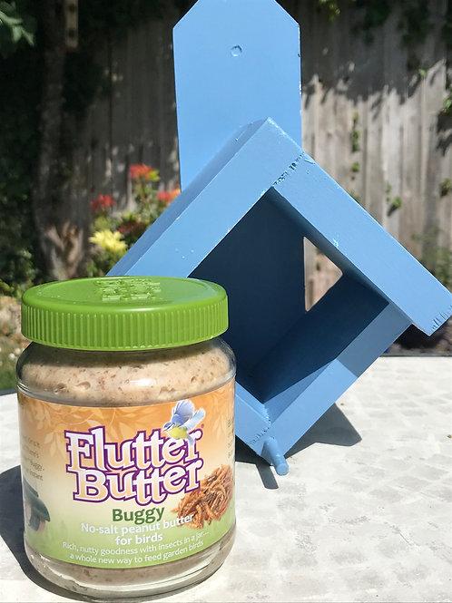 Peanut Butter Bird Feeder