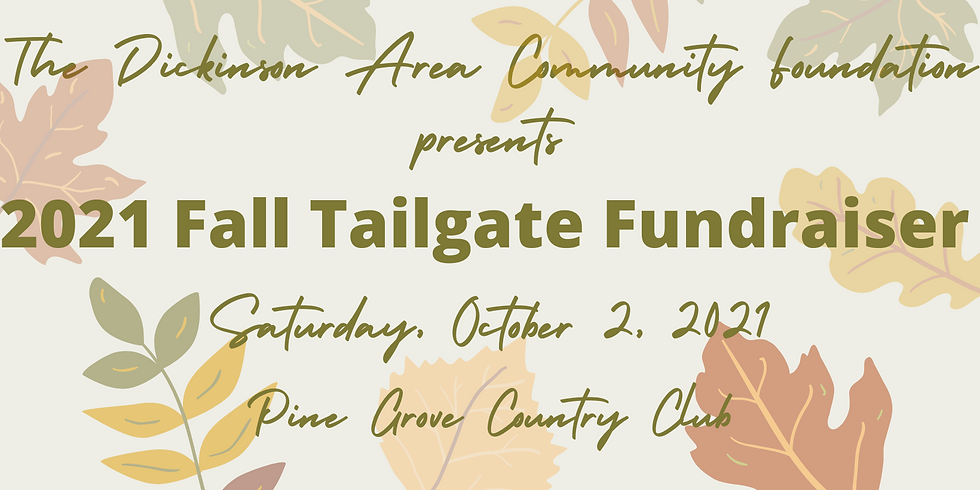 2021 Fall Tailgate Fundraiser