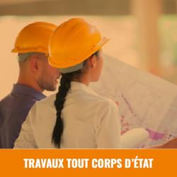 TRAVAUX TOUT CORPS D'ÉTAT
