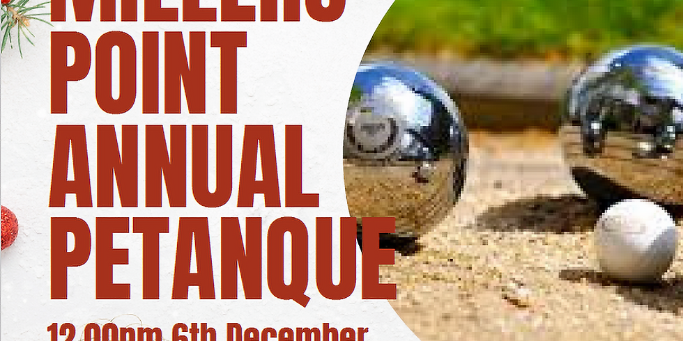 Millers Point Annual Petanque