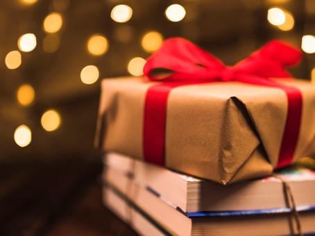 Dê livros de presente neste Natal