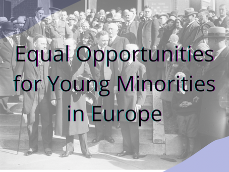 Call for Action – Equal Opportunities for Young Minorities in Europe