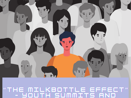 """""""The Milkbottle effect"""" – Youth Summits and Forums so White?"""