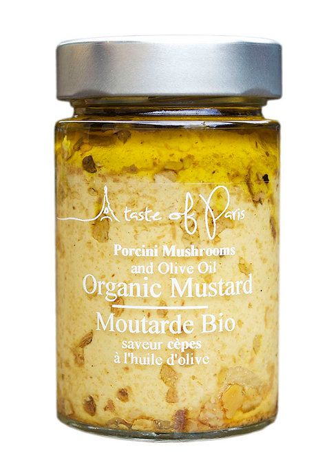 Organic Mustard with Porcini Mushrooms 190g