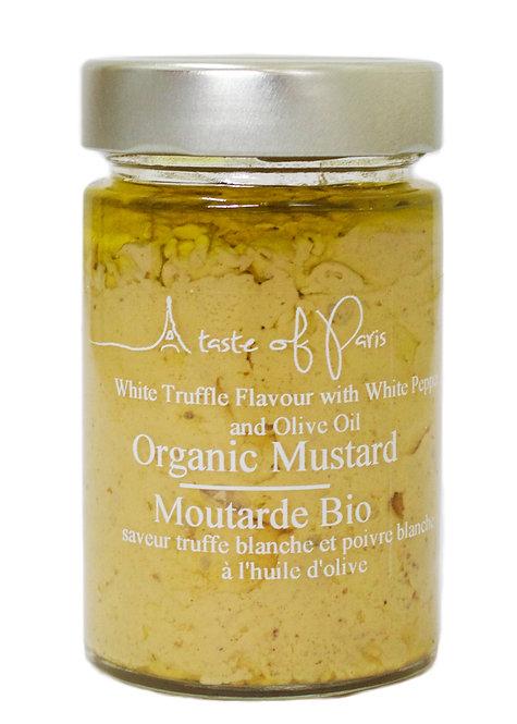 Organic Mustard White Pepper & White Truffle 190g