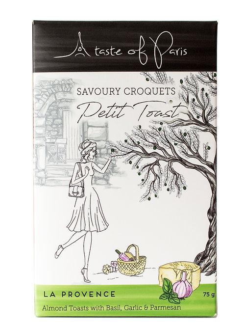 "Savoury Croquets - Petit Toast ""La Provence""- 75g"