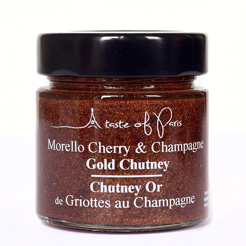 """Gold""Chutney Morello & Champagne"