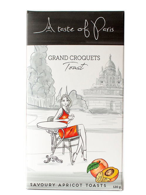 Grand Croquets Apricot Toast 120g