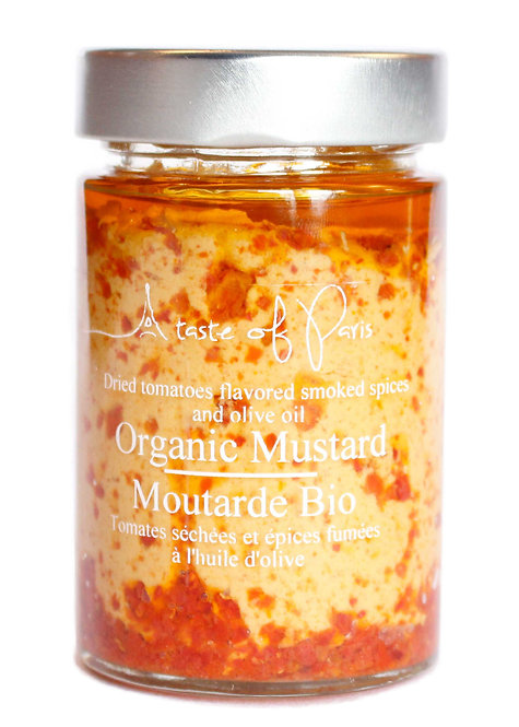 Organic Mustard Dried Tomato & Spices 190g