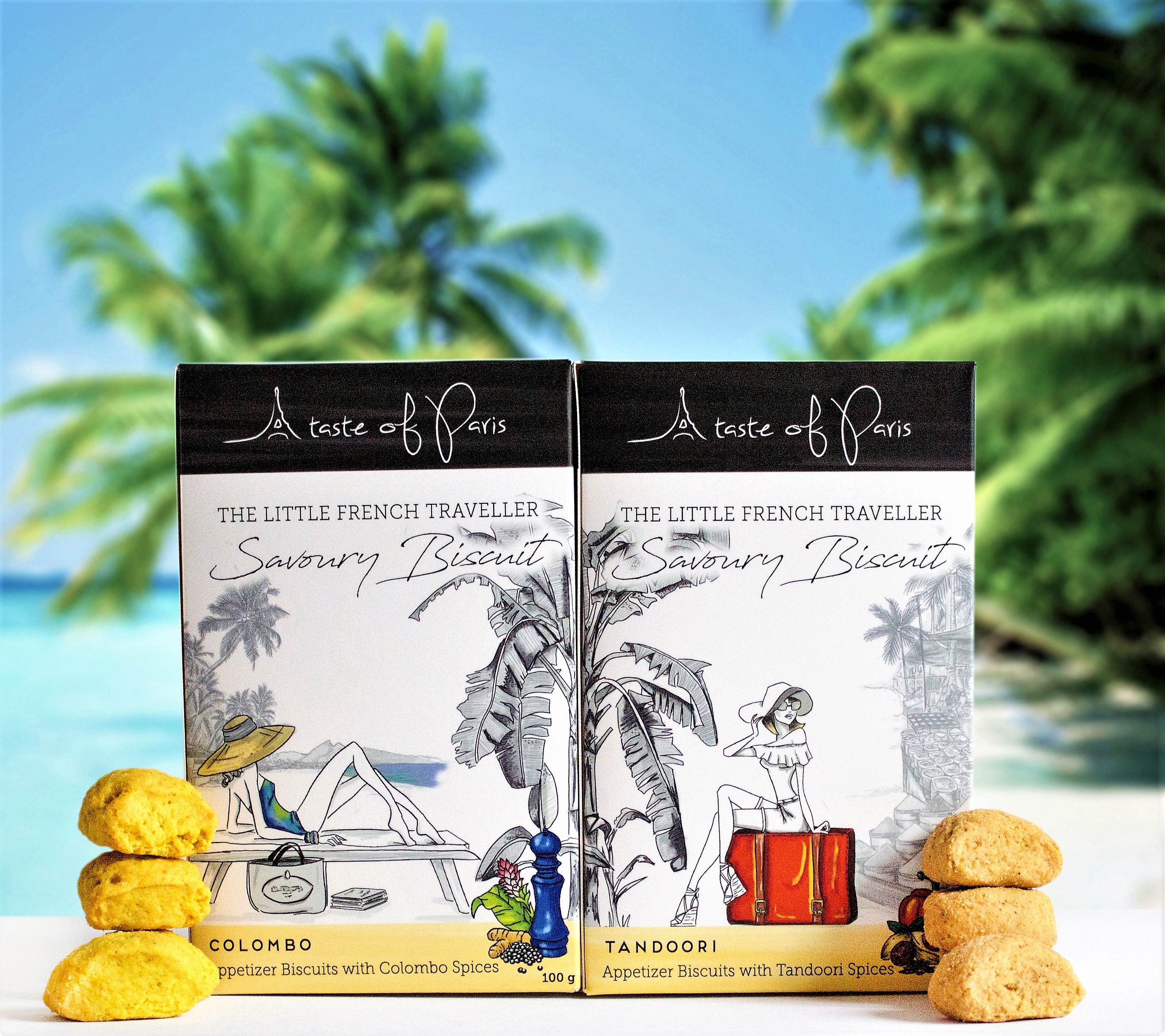 The Little French Traveller Shortbreads