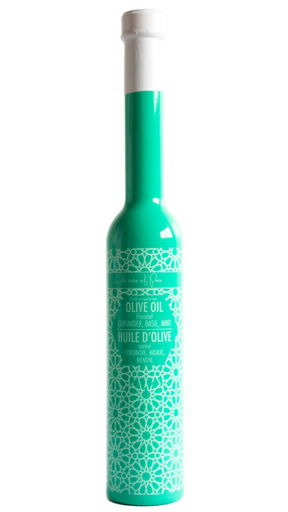 """""""Mint"""" Olive Oil Flavoured with Coriander, Basil & Mint 200ml"""