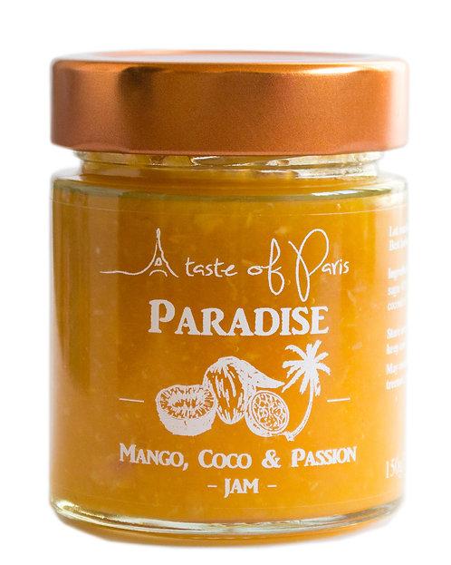 Paradise - Mango, Coconut & Passion Fruit Jam 150g