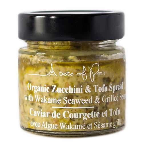 Organic Zucchini & Tofu Spread with Wakame Seaweed & Grilled Sesame 100g