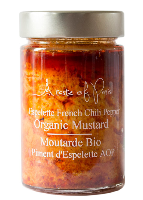 Espelette French Chili Pepper Organic Mustard 190g