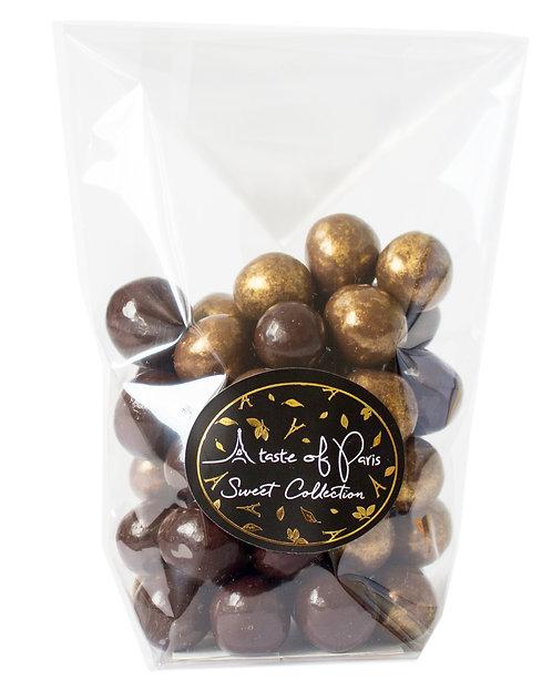 Gold & Dark Hazelnuts 150g