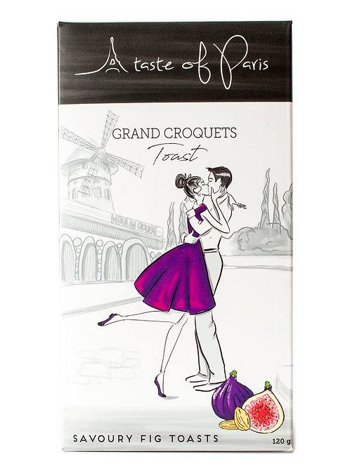 Grand Croquets Fig Toast 120g