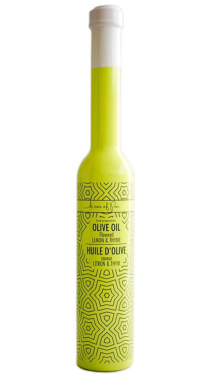 """Yellow"" Olive Oil with Lemon & Thyme 200ml"