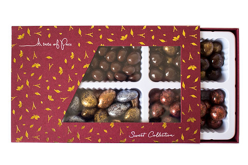 Festive Sleeve Box - Mosaic No 2 - 250g