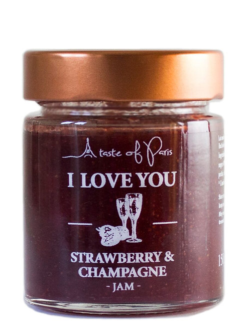 I Love You - Strawberry & Champagne 150g