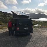 VW T5 Califoria en Norvège