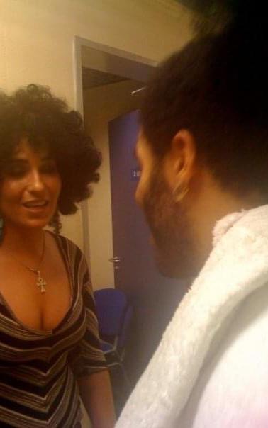 Sophie Cairo, Lenny Kravitz (Let Love Rule Tour)
