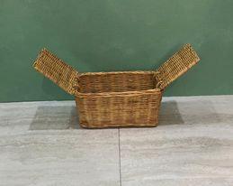 Square Window Wicker Gift box