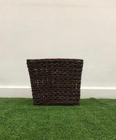 Chocolate brown V basket