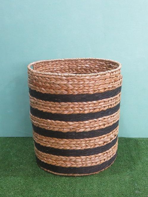 Black & Natural Big Basket