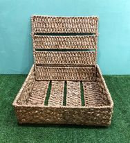 Big Square Bancuan Basket with Cover