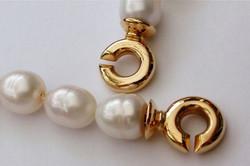Or jaune & perles