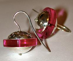 Argent & plexi rose
