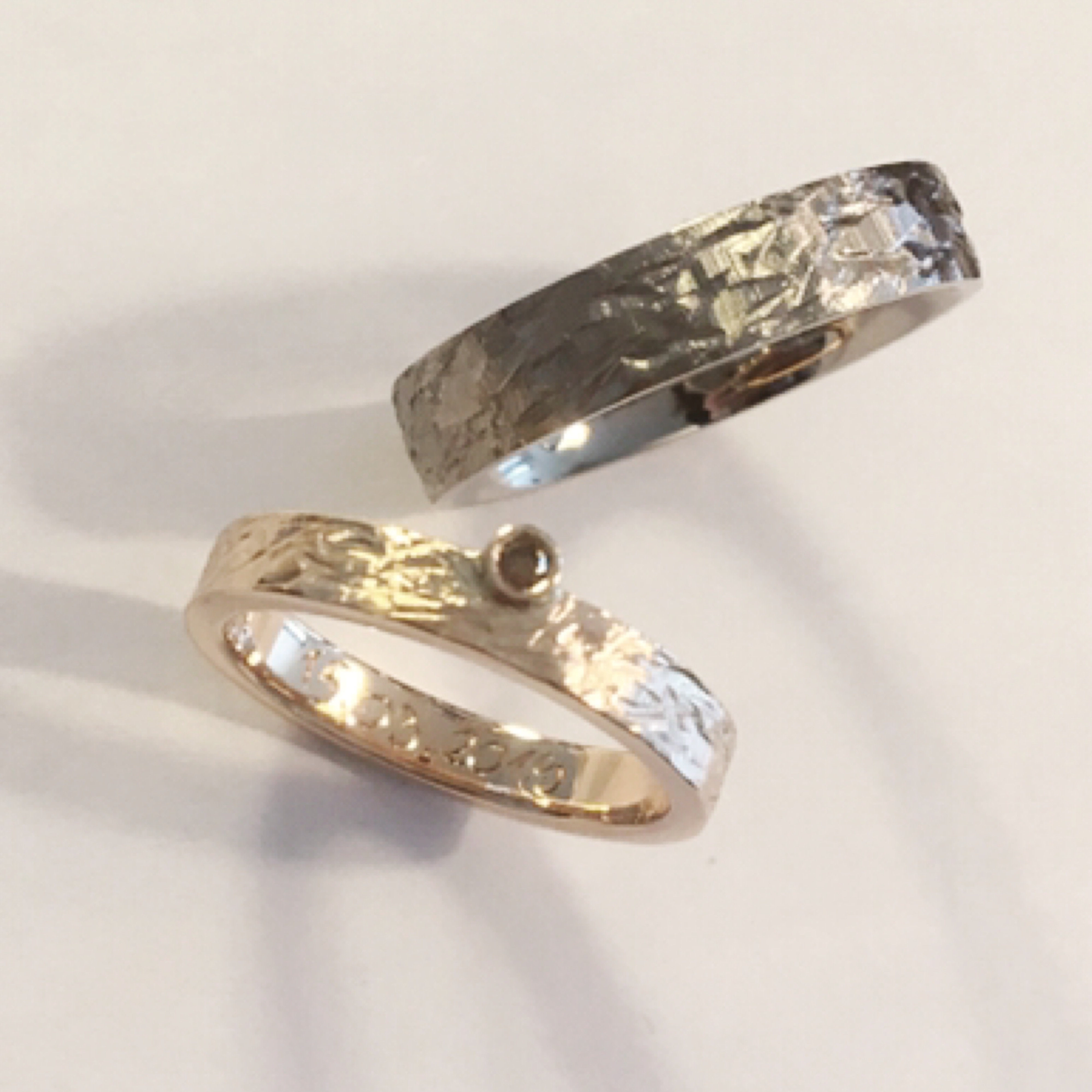 Bicolore & diamant