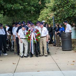 2016 Texas South Plains Honor Flight: Navy Memorial