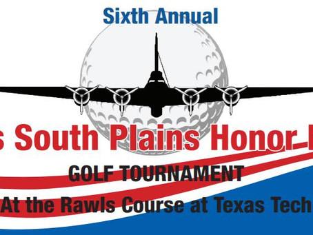 6th Annual Texas South Plains Golf Tournam