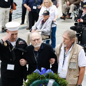 2017 Texas South Plains Honor Flight: World War II Memorial