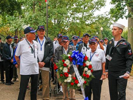 2017 Texas South Plains Honor Flight: Vietnam War Memorial