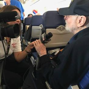 2017 Texas South Plains Honor Flight: Leaving Lubbock (Part 2)