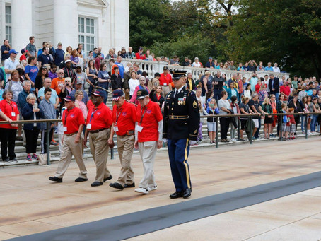 2017 Texas South Plains Honor Flight: Changing of the Guard (Part 1)