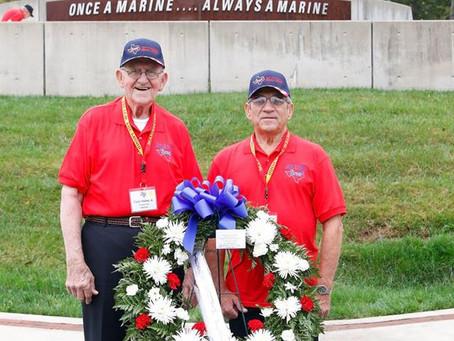 2017 Texas South Plains Honor Flight: Marine Corp Memorial (Part 2)