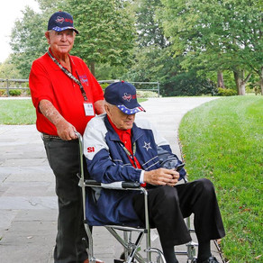 2017 Texas South Plains Honor Flight: Changing of the Guard (Part 2)
